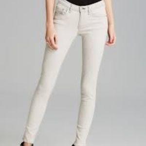Rag & Bone Skinny Jeans The Wedge Size 26